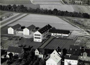 Brüder-Grimm-Schule, Luftaufnahme