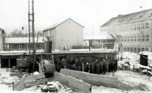 Grundsteinlegung Mittelpunktschule Januar 1966 (2)